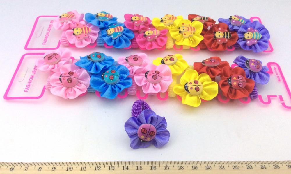 Цветок для резинки своими руками